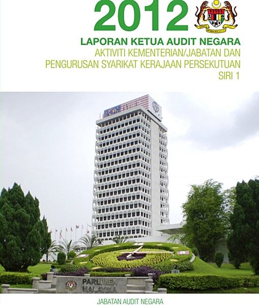laporan ketua audit negara