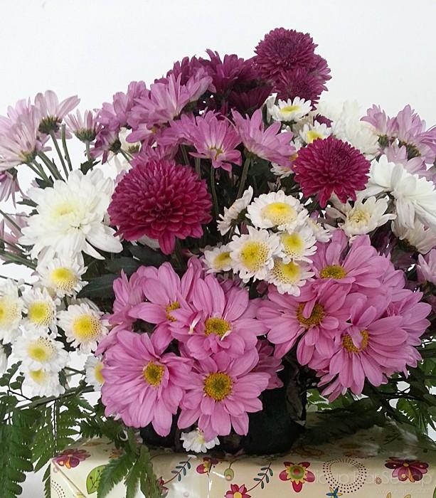 jambangan bunga