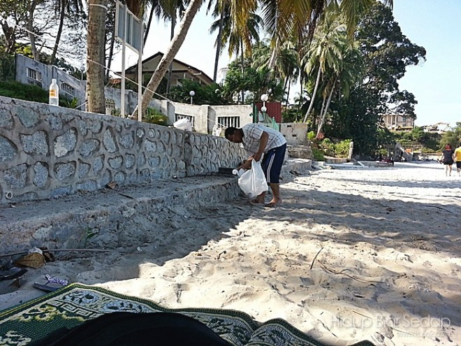 pantaikutip sampah