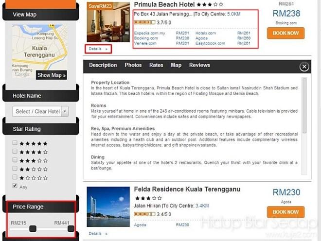 pilihan hotel murah