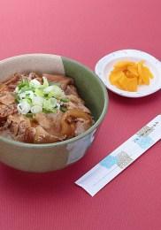 豚スタミナ丼¥850