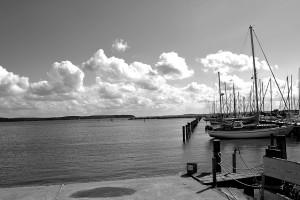 Hafen Krummin.Foto: fh