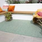 Green Mottled Indoor Outdoor Rug Patio Kukoonrugs