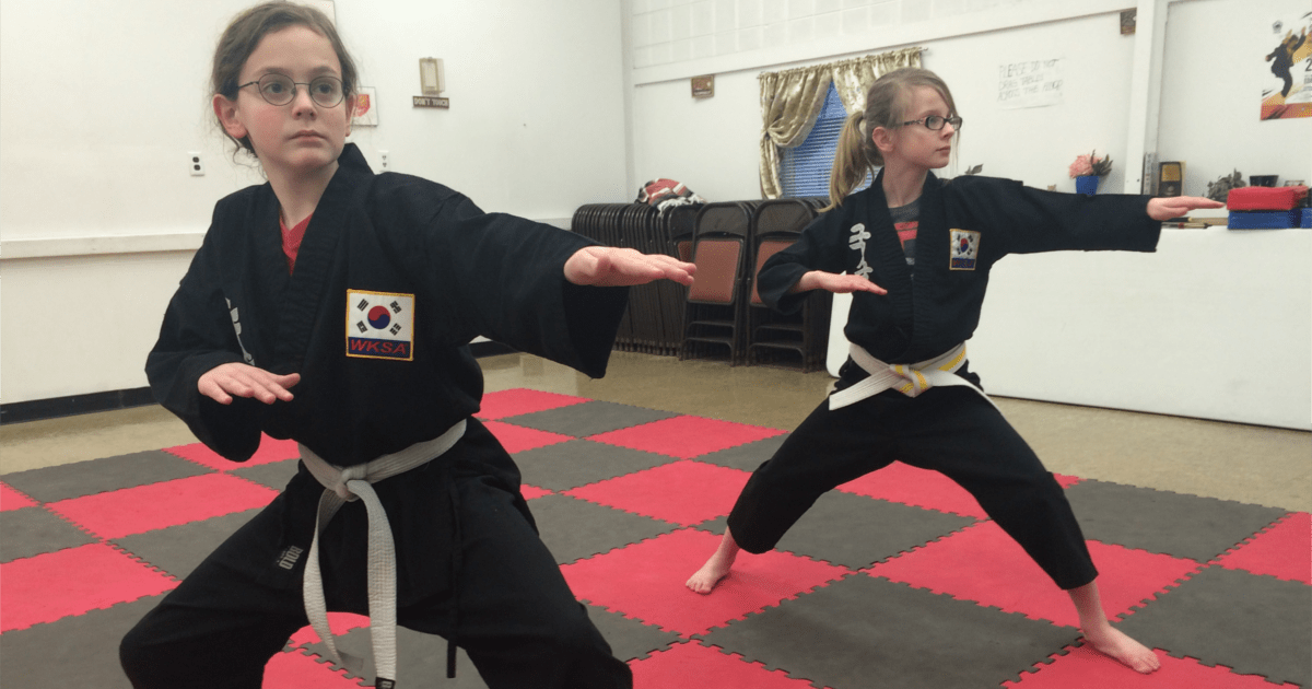 Brother and sister begin practicing at Kuk Sool Won of Muncie.