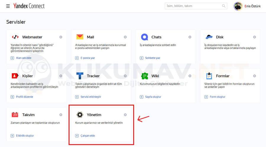 Yandex Connect Şirket Maili Kurma