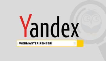 Yandex Webmaster Rehberi
