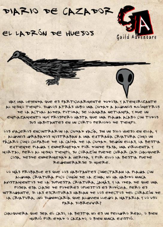 Diario del cazador: Ladrón de huesos