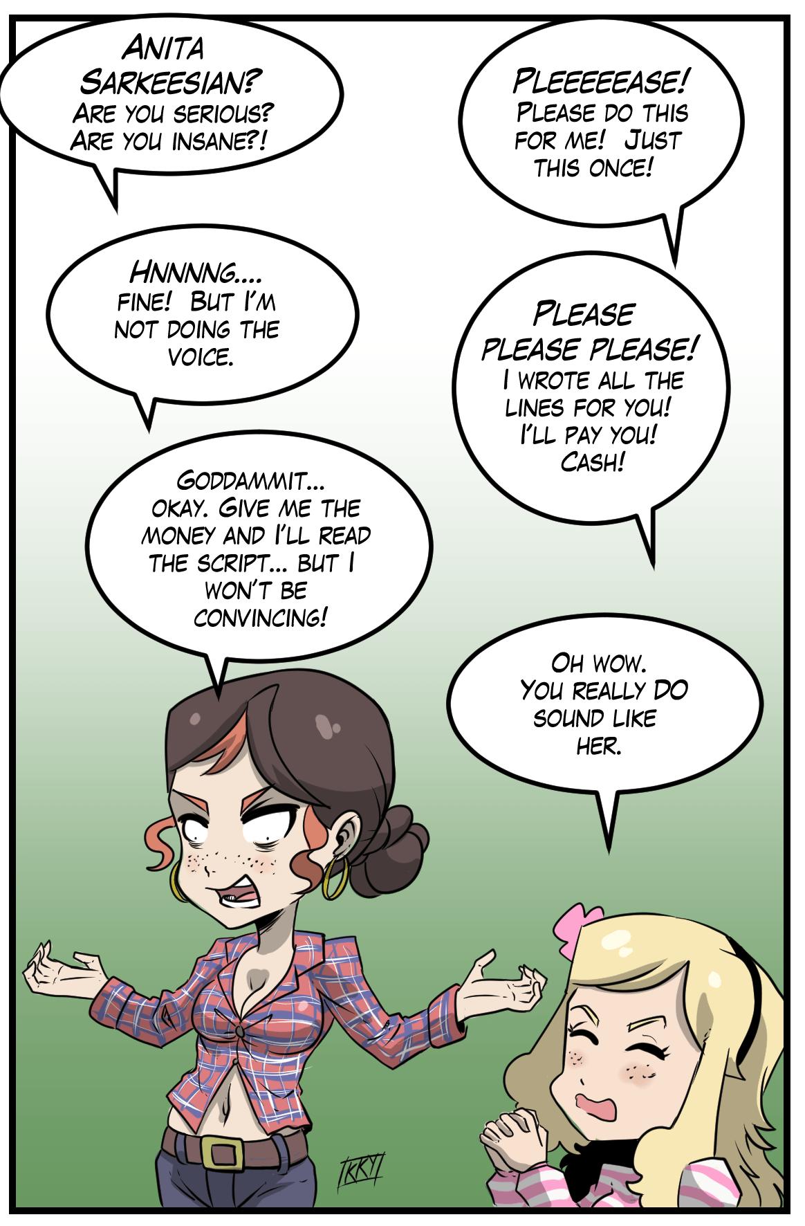 Commissioned Vivian comic 12