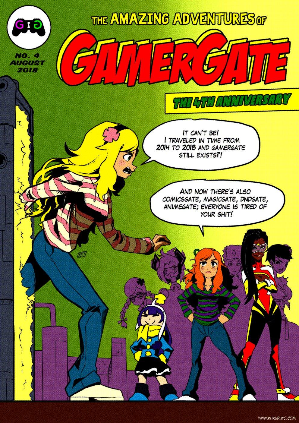 Gamergate 4th anniversary
