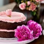 flores-postre-torta-pastel-chocolate-rosas
