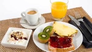 Desayuno saludable en las mañanas