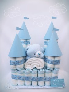 Pañales baby shower