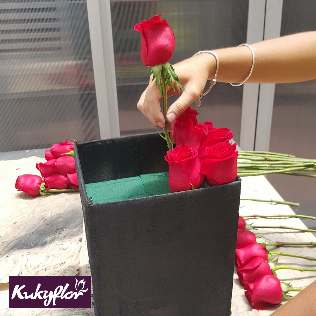 Diy Flores En Caja Cómo Hacer Tu Propio Box De Flores