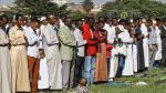 Outgoing Wajir South DCC, Felix Kisalu in past function.