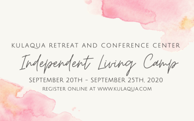2020 Independent Living Camp at Kulaqua