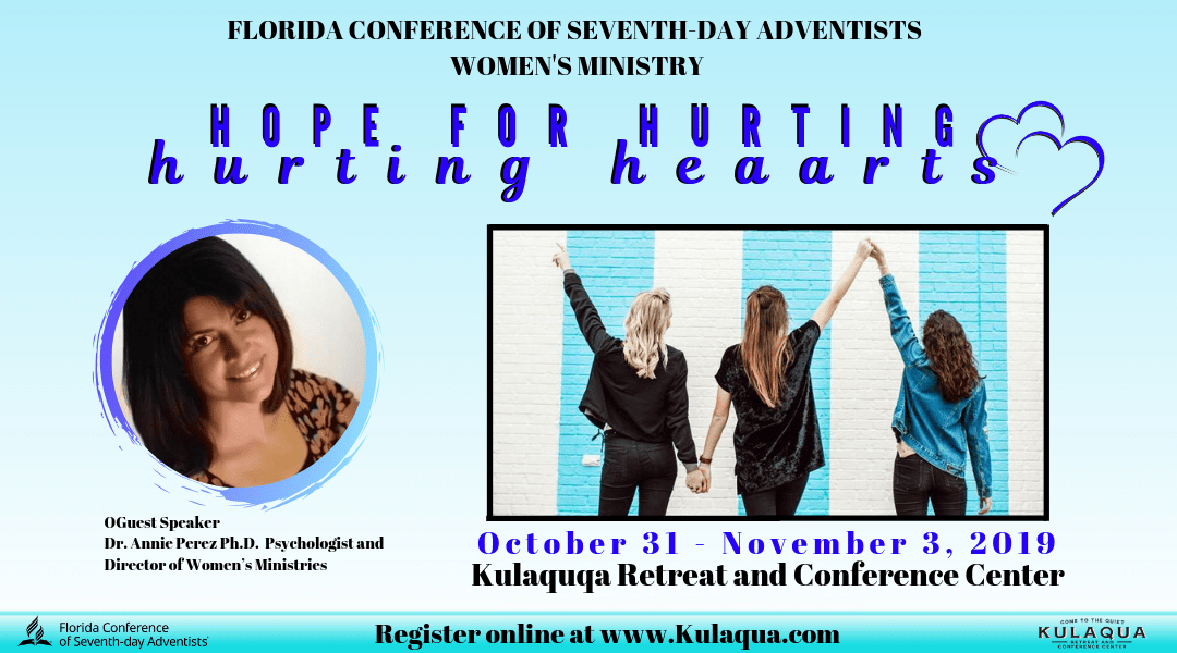 2019 Hope for Hurting Hearts Retreat at Kulaqua Retreat and Conference Center English Session