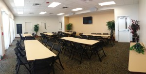 Kulaqua Retreat and Conference Center Woodland Lodge Seminar Room - Classroom Style