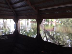 kulaqua retreat and conference center hurricane irma pavillion flooded water images florida's best christian retreat location kulaqua