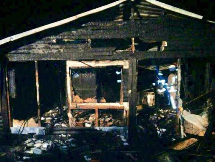 У Сокільниках згорів ресторан