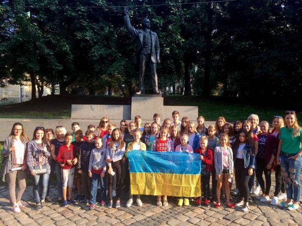 Діти учасників АТО зі Львівщини вирушили на відпочинок до Польщі