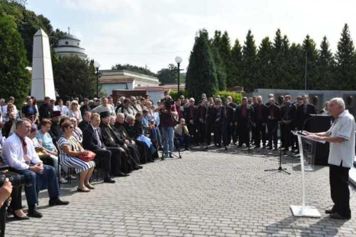 На Личаківському цвинтарі вшанували пам'ять борців за Незалежність України