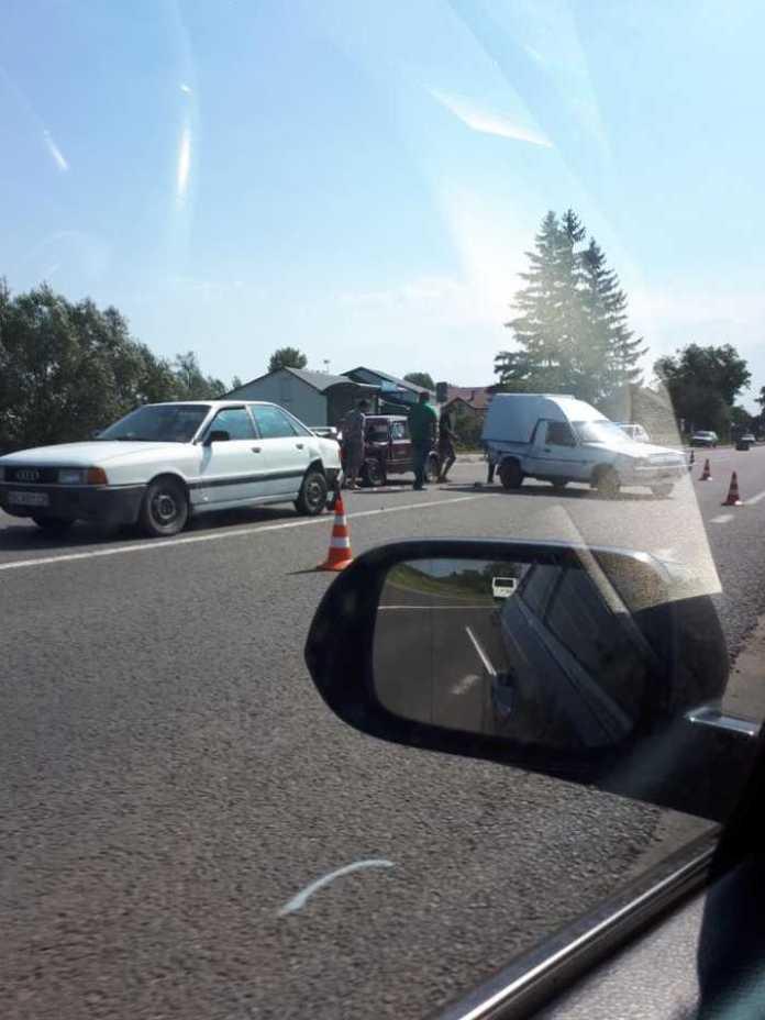 На Львівщині сталась аварія