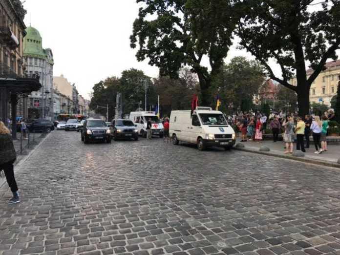 Львів прощається із бійцем АТО