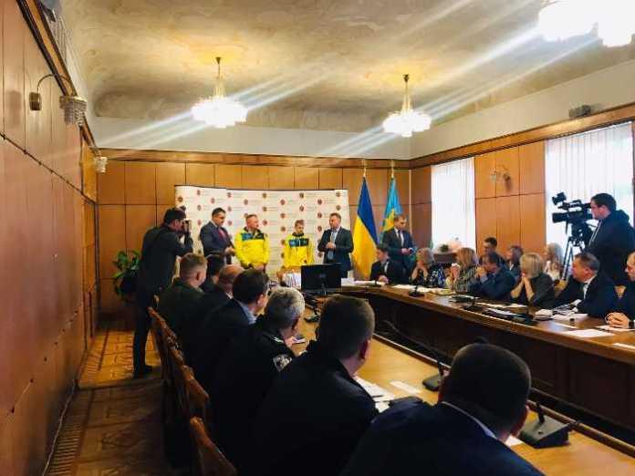 Сергій Шимчак під час апаратної наради у Львівській ОДА