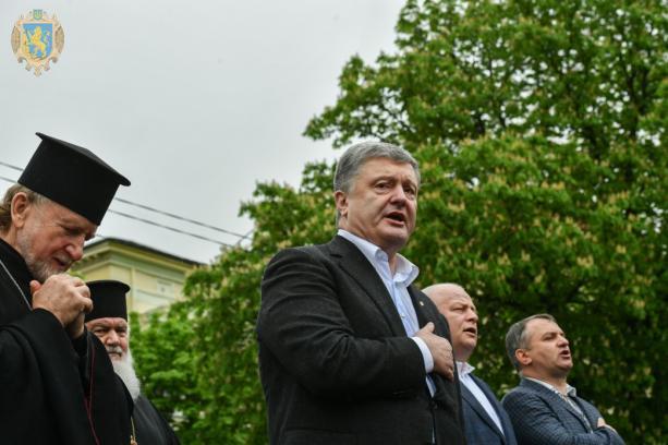 Ми не дамо зупинити Україну на європейському шляху, – Президент Порошенко