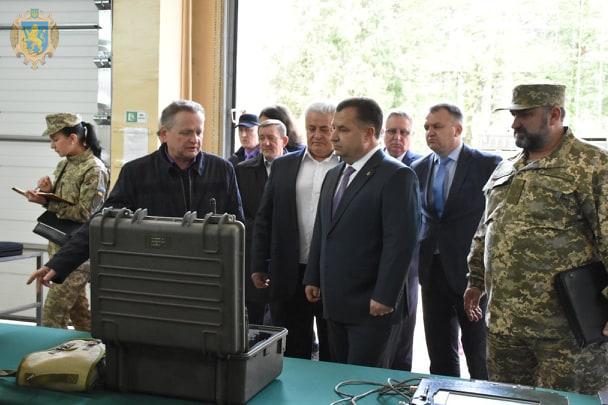 Міністр оборони України відвідав Львівський державний завод «ЛОРТА»