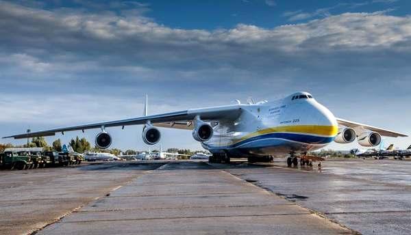 До України прибув Ан-225