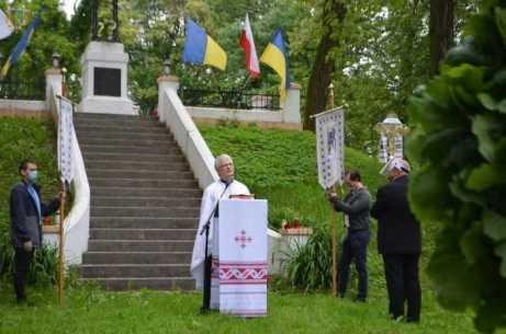 У Пикуличах вшанували полеглих українських воїнів. Фото із сайту ЛОДА