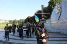 У Львові поховали учасника бойових дій УПА Василя Романіва, фото ЛМР