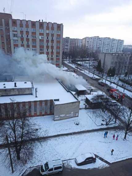 У Львові горіло приміщення колишнього ресторану, фото Варта-1