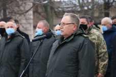 Львівщина провела в останню путь генерал-майора Андрія Колєннікова, фото Павло Ткачук