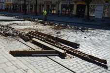 У Львові перекрили ще одну ділянку на вулиці Степана Бандери