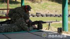 На Львівщині поліцейські провели тактико-спеціальні навчання та бойові стрільби