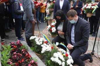 У Львові вшанували пам'ять Івана Франка, фото ЛОР