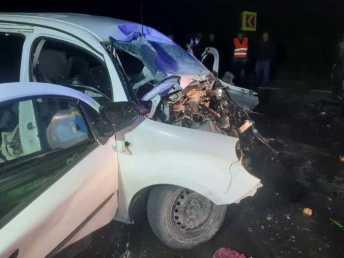 На Львівщині у жахливій аварії загинуло двоє осіб, фото ДСНС Львівщини