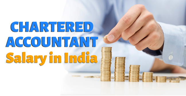 Chartered Accountant Salary in India