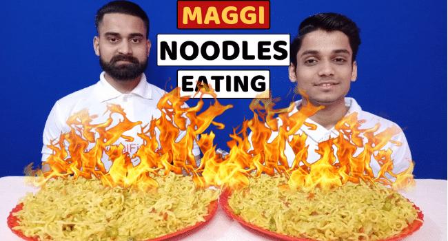 Maggi Noodles Eating Challenge KulFiy