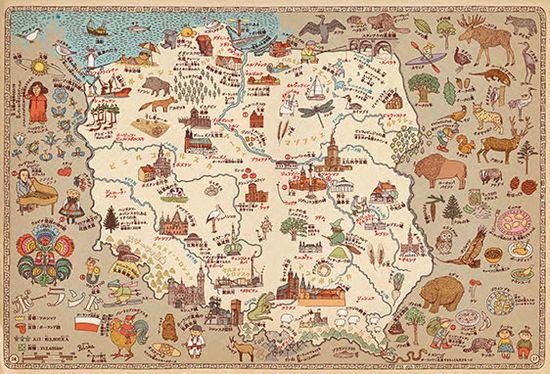 MAPS POLAND
