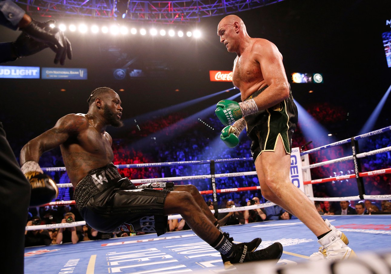 Eddie Hearn Says – Deontay Wilder Is Utterly Defeated
