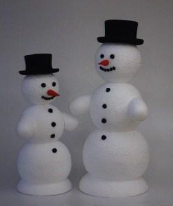 Snehulak kulisy polystyren cenik