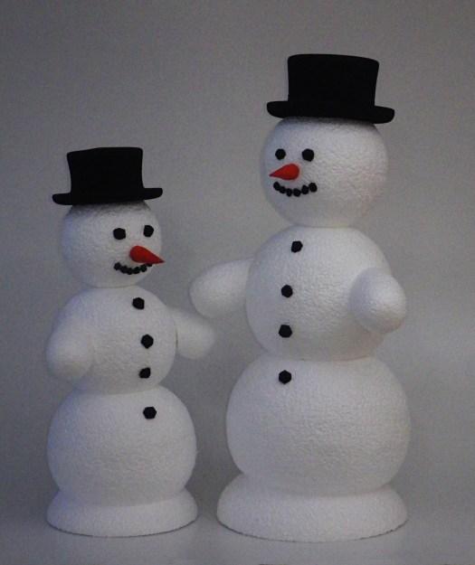 polystyrenový Snehulak kulisy polystyren cenik, polystyrenový výroba dekorace makety reklamní kulisy, polystyrene, schneemann produktion, polystyrene, Bühnenbildner, styropor,