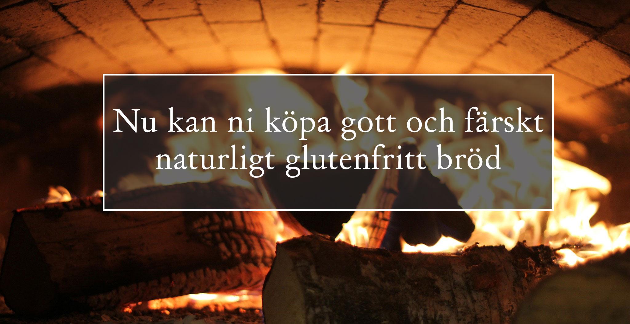 Färskt glutenfritt bröd, Kullagårdens glutenfria stenugnsbageri