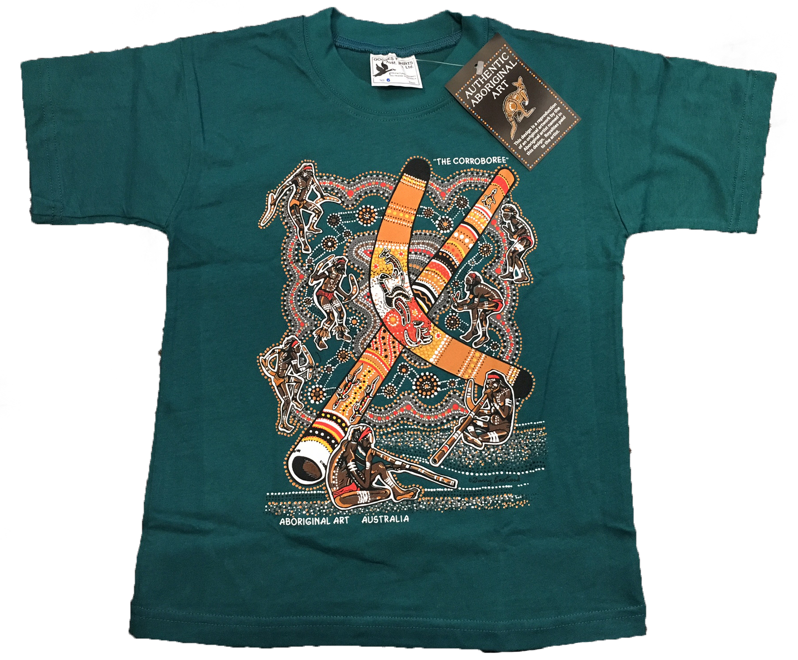 Aboriginal Design Kids T Shirt