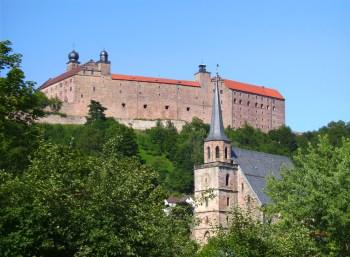 Plassenburg, das Wahrzeichen von Kulmbach