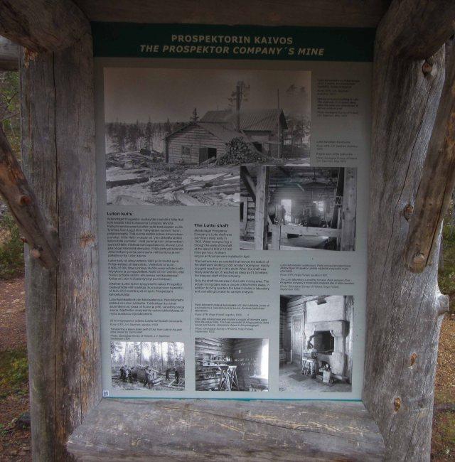 Luton kaivoksen vanha kaivostupa on uudelleen rakenenttuu ja sisällä avautuu luukku kaivoskuiluun, josta kuuluu monenlaisia ääniä tämän päivä matkaililijalle. Tätä nähtävyyttä kannattaa Saariselällä käydä lumettomana aikana katsomassa; Laanilasta vajaan kilometrin päässä retkipolun vieressä.