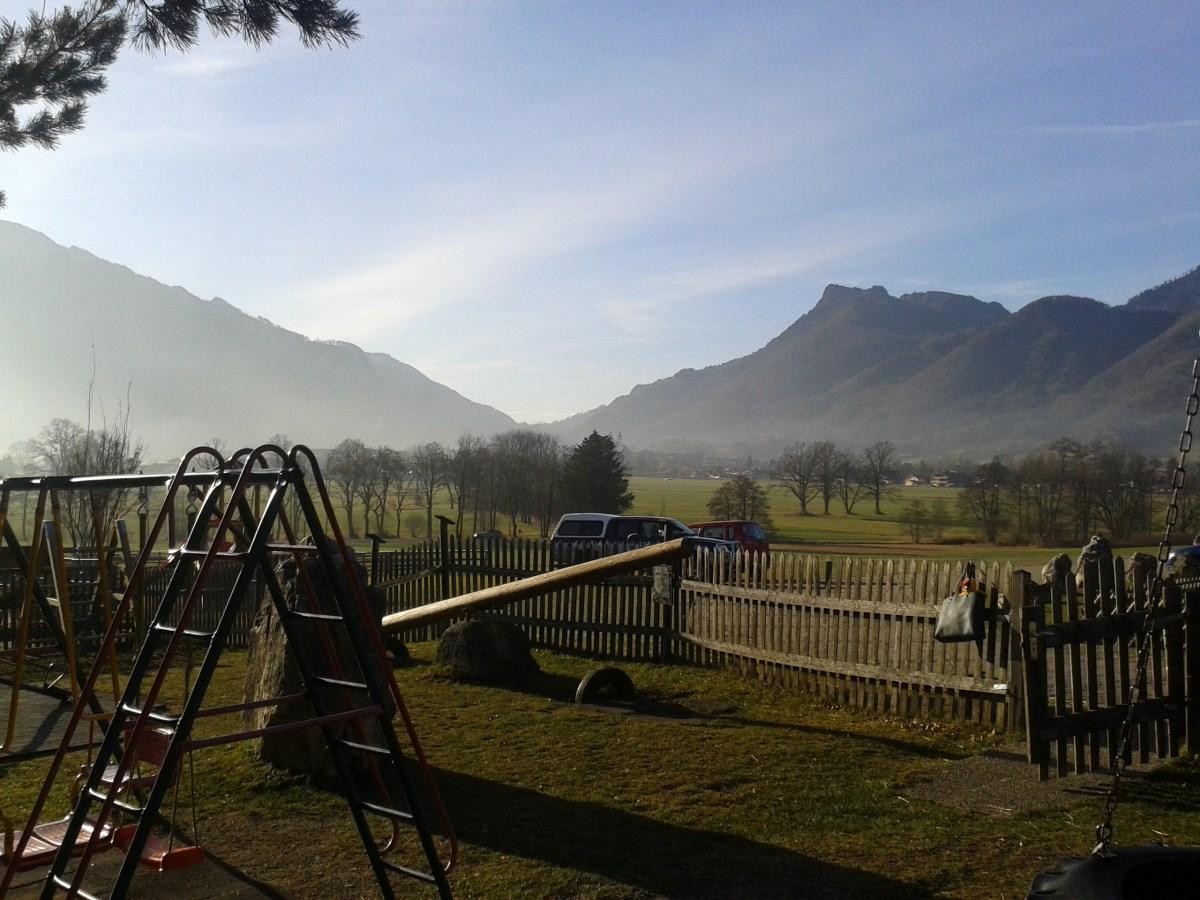 Blick ins Tal von Aschau